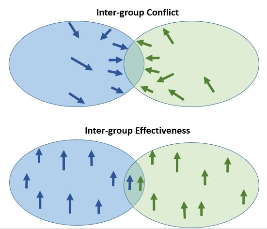 Intergroup conflict and effectiveness